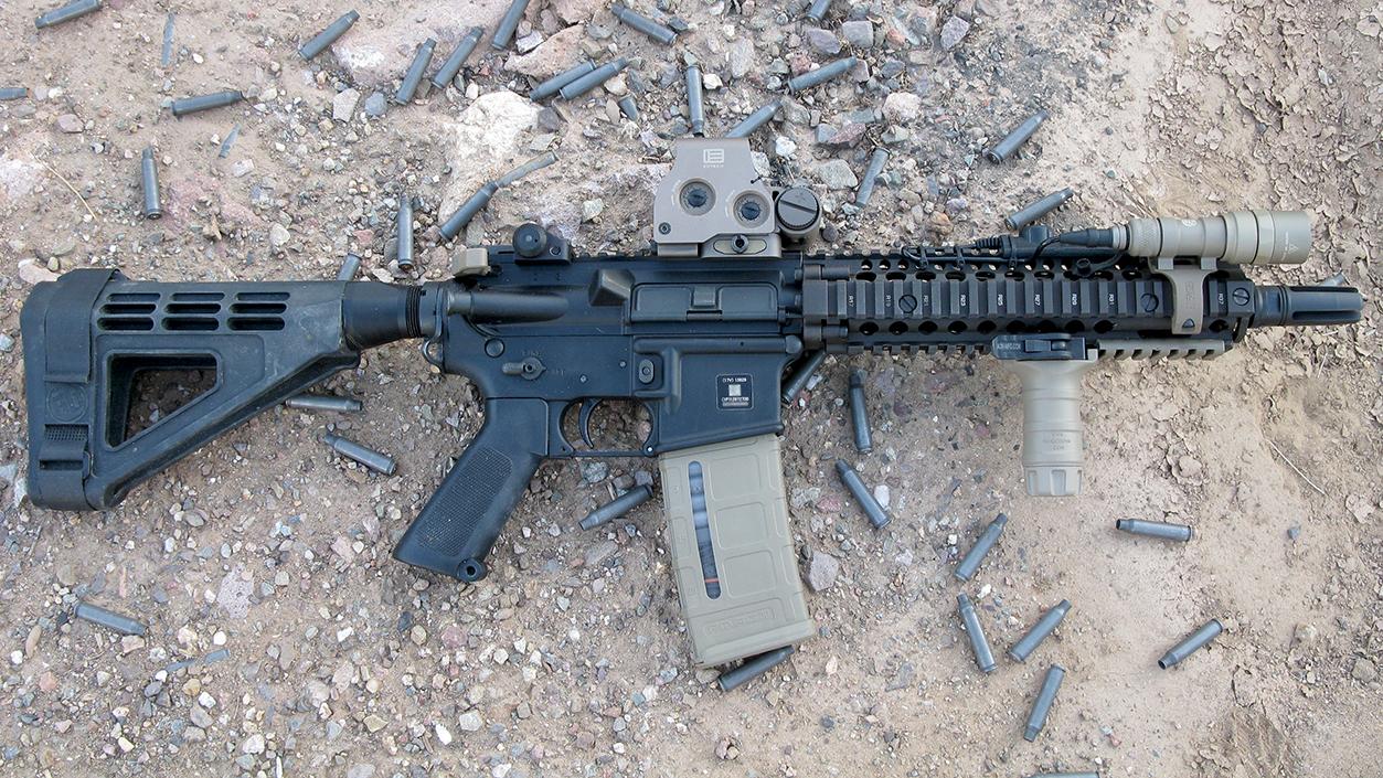 Vertical grip on 10 5 barrel and SBA3? - AR15 COM